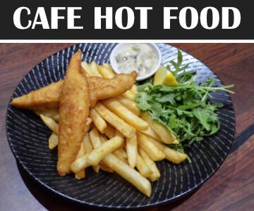 Cafe Hot Food Menu Echuca Workers