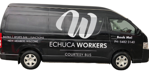 Courtesy Bus Echuca Workers
